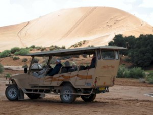 Namibia Gelaendefahrt zum Vlei