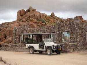 Namibia Lodge Gelaendewagen