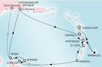 TUI Mein Schiff 5 - Karibik 14-tägig vom 18.11.2016 - 24.03.2017