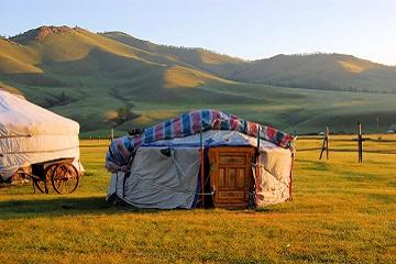 Mongolei - Wüste, Jurten und Nomaden